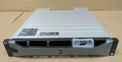 "Dell Compellent SCv2020 Storage System 24x 2.5"" SAS HDD Bay 2x 16G-FC-2 2x PSU"